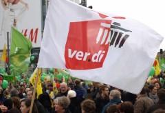 ver.di auf der Anti-AKW-Demo in Berlin
